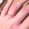 【ORECCHIO(オレッキオ)の口コミ】 最初来店する前は指輪の素材はプラチナであると決めていましたが、実際に…