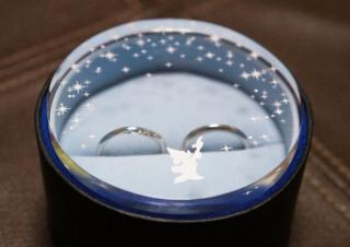【CITIZEN Bridal(シチズンブライダル) / ディズニーシリーズの口コミ】 ディズニーのデザインがお気に入りで、他の指輪もディズニーのものやスタ…