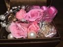 【LEGAN(レガン)の口コミ】 いくつか候補にあがりましたが、形も似合いそうで、ピンクダイヤが両サイ…