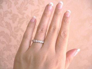 【ティファニー(Tiffany & Co.)の口コミ】 主人と話しているときに見つけてひとめぼれしました。 ピンクの指輪はなか…