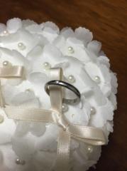 【カルティエ(Cartier)の口コミ】 カルティエの指輪が2人ともずっと欲しかったので、カルティエで探しました…
