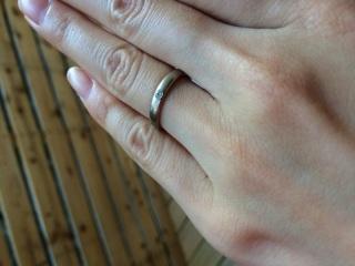 【NIESSING(ニーシング)の口コミ】 指輪購入の決め手は、シンプルで飽きのこないデザインと信頼できるブランド…
