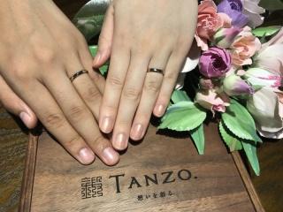 【TANZO(タンゾウ)の口コミ】 一生に一度のものだからこそ、「丈夫」で「オリジナル」の結婚指輪が欲し…