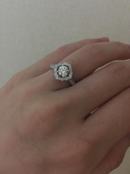 指輪 グラフ 婚約