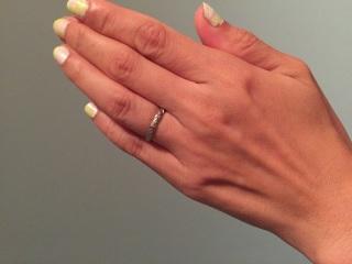 【シャネル(CHANEL)の口コミ】 シャネルを代表するキルティング模様が気に入りました。年をとってこの指輪…