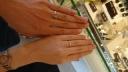 【JEWELRY  KAMATA(ジュエリーかまた)の口コミ】 2つの指輪を合わせると両家の家紋になる指輪です。細かいところまで作業が…