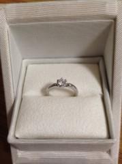 【PAVEO CHOCOLAT(パヴェオショコラ)の口コミ】 雑誌でこの指輪を拝見して、カッティングデザインの綺麗さと可愛さに惹かれ…