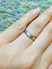 【ete(エテ)の口コミ】 オーダーメイドで一から指輪のデザインができると説明を受け、デザインを…