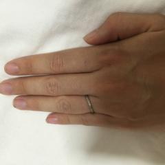 【ケイウノ ブライダル(K.UNO BRIDAL)の口コミ】 オリジナルな指輪が作れます。指輪のデザイナーさんと打ち合わせをし、目の…