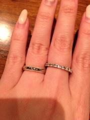【ティファニー(Tiffany & Co.)の口コミ】 シンプルで何にでも併せられるデザインを探していた時にこの指輪を見つけま…