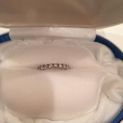 【1/f エフブンノイチの口コミ】 一粒ダイヤの婚約指輪は結婚後つけるのが少し気恥ずかしくなりそうだった…