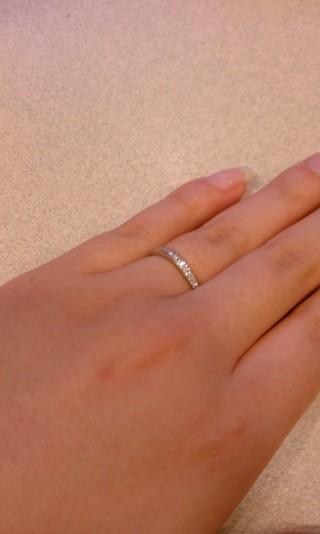 【SONARE(ソナーレ)の口コミ】 結婚指輪は低価格で質のよいものにしたかったので、共済での購入を考えてい…