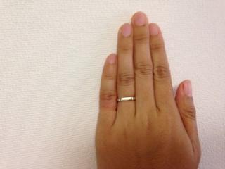 【グッチ(GUCCI)の口コミ】 主人と相談して婚約指輪はなしで結婚指輪のみにすることにしました。ダイ…