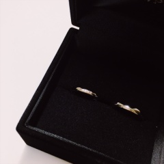 【BIJOUPIKO(ビジュピコ)の口コミ】 いろんな指輪をみているなかでなかなかしっくり来るものがなく、内側にイ…