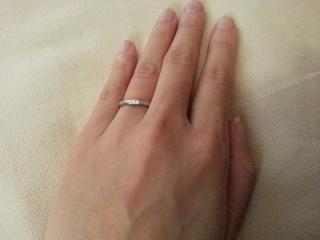 【ラザール ダイヤモンド(LAZARE DIAMOND)の口コミ】 良心的な値段かつ、見た目は華やかでダイヤモンドのついた指輪を探していま…