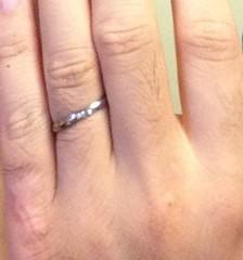 【BLOOM(ブルーム)の口コミ】 仕事柄、指輪をつける事がデートの時くらいなので奥さんの欲しい指輪を購…