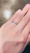 【アイプリモ(I-PRIMO)の口コミ】 婚約指輪とお揃いのブランド。 元々ゼクシーで見て気になっていて 結婚指…