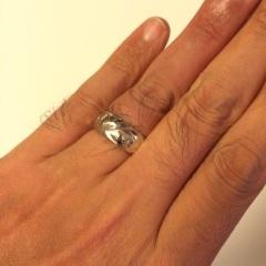 【Wailea(ワイレア)の口コミ】 普通の結婚指輪では、なんだか物足りなさを感じていて、ハワイ好きの妻に…