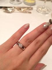 【ティファニー(Tiffany & Co.)の口コミ】 まず、婚約指輪は一生ものなので世界共通のあこがれのブランドであるティ…