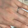 【A・D・A(エー・ディー・エー)の口コミ】 実際に試着した時に指にフィットしたことや指がきれいに見えるラインの幅…