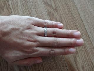 【俄(にわか)の口コミ】 いろいろなお店をまわりましたがなかなか気に入った指輪に出会えず、そんな…
