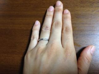 【アイプリモ(I-PRIMO)の口コミ】 結婚指輪は常時つけているものなので日常生活で邪魔にならないデザインを希…