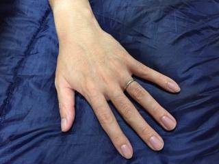 【ブルガリ(BVLGARI)の口コミ】 私は男性ですので特に指輪にこだわりはなく、妻がお揃いのペアリングをい…