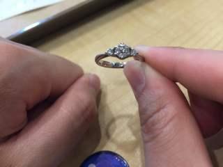 【アイプリモ(I-PRIMO)の口コミ】 購入の決め手になったのは ・ダイヤの質と大きさと価格のバランスが良い …