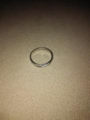 【4℃ BRIDAL(ヨンドシーブライダル)の口コミ】 授かり結婚であり、結婚指輪を急遽買わなくてはいけなくなり、一度買って…