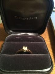 【ティファニー(Tiffany & Co.)の口コミ】 いらないと思っていた婚約指輪ですが、美しいイエローダイヤに目を惹かれ…