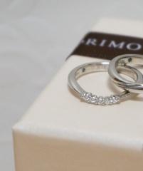 【アイプリモ(I-PRIMO)の口コミ】 なかなか他のブランドにないデザインで、ダイヤモンドのまわりがほそくなっ…