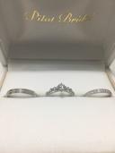 【Gem Castle YUKIZAKI(ジェムキャッスルユキザキ)の口コミ】 最初彼の指輪はシンプルなものにしていたが、どうしても女性的な指に見え…