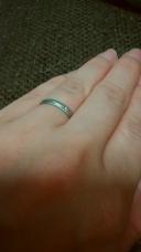【スタージュエリー(STAR JEWELRY)の口コミ】 ミル打ちデザインの指輪がほしくて探しました。スタージュエリーのこちら…
