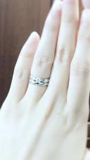 【ティファニー(Tiffany & Co.)の口コミ】 デザインがかわいく、セッティングのようにダイヤが飛び出していないので…