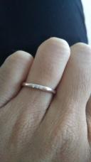 【TASAKI(タサキ)の口コミ】 色とデザインが気に入りました。ピンクゴールドの指輪を探していたので気…