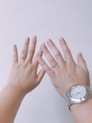 【俄(にわか)の口コミ】 試着した際に 指に馴染んだのと あまり選ばれる方が少ないというお話だっ…