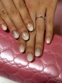 【アンジェリックフォセッテ(Angelique Fossette)の口コミ】 婚約指輪もアンジェリックフォテッセで購入していたので、ダブルでつけて…