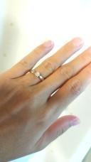 【ティファニー(Tiffany & Co.)の口コミ】 二人の指輪をそろそろ…と思っていた矢先、私は普段指輪を着けない…