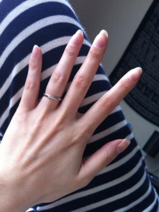 【グッチ(GUCCI)の口コミ】 指輪全体に模様が入っているので、シンプルかつ個性を欲しい方には特におす…
