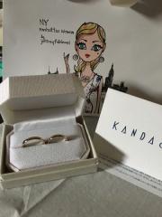 【Honey Bride(ハニーブライド)の口コミ】 このブランドの蜂蜜色の指輪の発色が良かった。安すぎず高すぎない価格で…