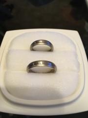 【俄(にわか)の口コミ】 元々、私が俄さんが好きで、結婚指輪は俄さんで買いたいとお願いしていま…