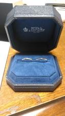 【ROYAL ASSCHER(ロイヤル・アッシャー)の口コミ】 婚約指輪をロイヤルアッシャーにしたため、結婚指輪も同じブランドにしま…