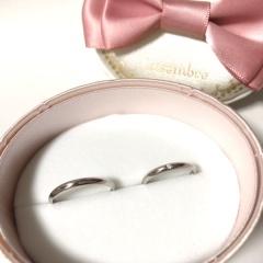 【insembre(インセンブレ)の口コミ】 婚約指輪のサイズ調整でお店を訪れた時にインセンブレの指輪をみてコンセ…
