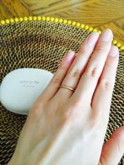 【noguchi(ノグチ)の口コミ】 いかにも結婚指輪、といった感じのシルバー色やプラチナはいやだったので…