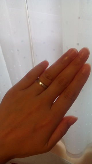 【ティファニー(Tiffany & Co.)の口コミ】 結婚指輪を購入するならティファニーでと決めていました。店内でいろいろ…