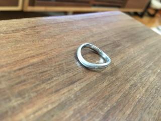 【工房 茶ぼうの口コミ】 0.5ずつサイズが決められて、自分の指にフィットできる指輪にしてもらえた…