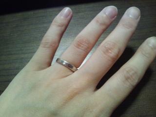 【杢目金屋(もくめがねや)の口コミ】 彼がかっこいい指輪を探していたところ、見つけました。私も和風テイストが…