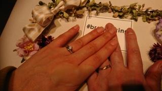 【LAPAGE(ラパージュ)の口コミ】 今回指輪の決め手となったのはラパージュが花をモチーフにしたブランドで…