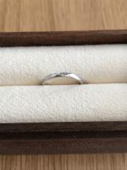 【Love Bond(ラブボンド)の口コミ】 デザインがとても気に入り購入しました。 婚約指輪もここのブランドなもの…