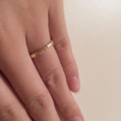 【Jupiter BLANTELIE(ジュピターブラントリエ)の口コミ】 以前からジュピターのアクセサリーが好きで、結婚指輪はこのブランドと決め…